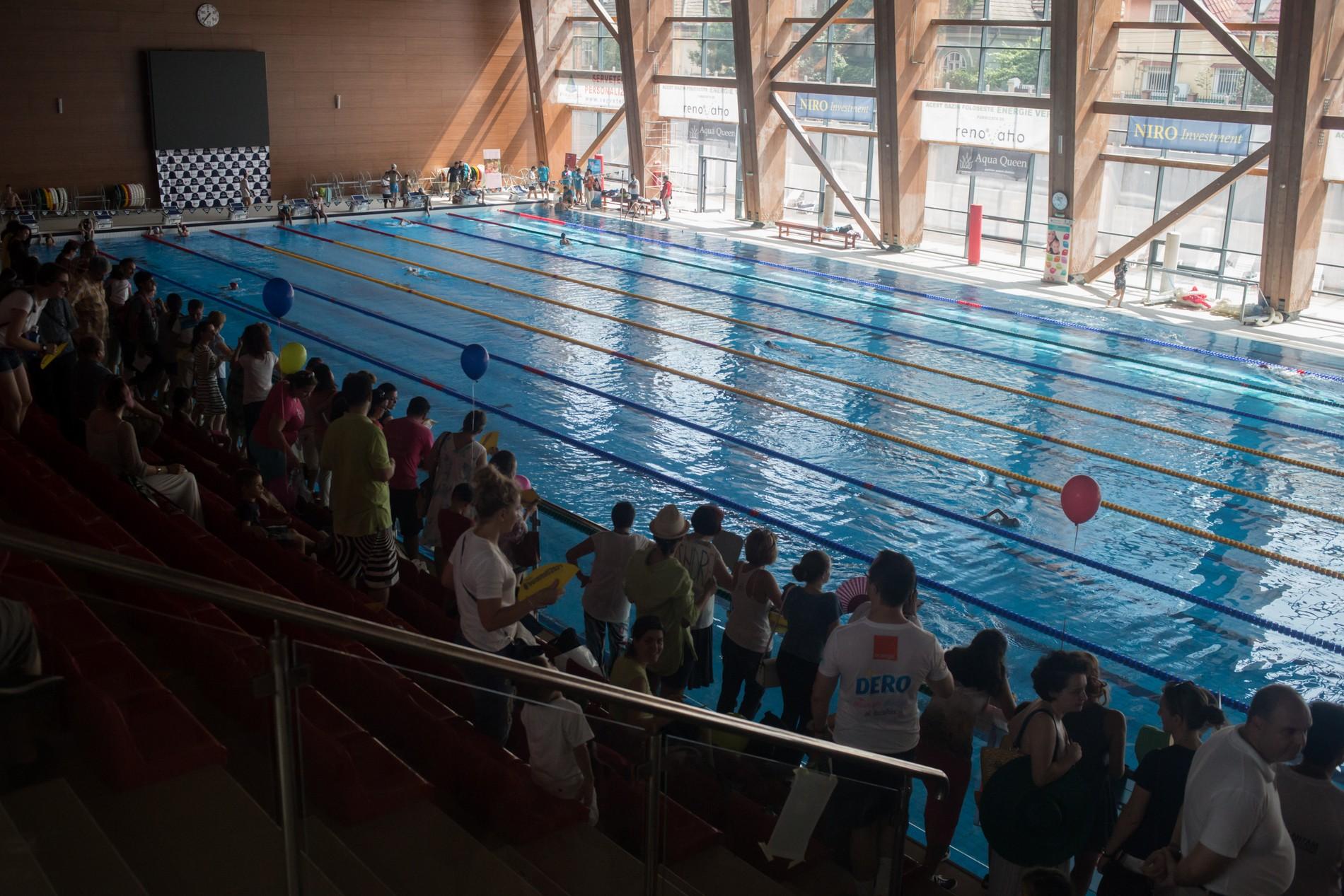 25 de proiecte participă anul acesta la Swimathon București