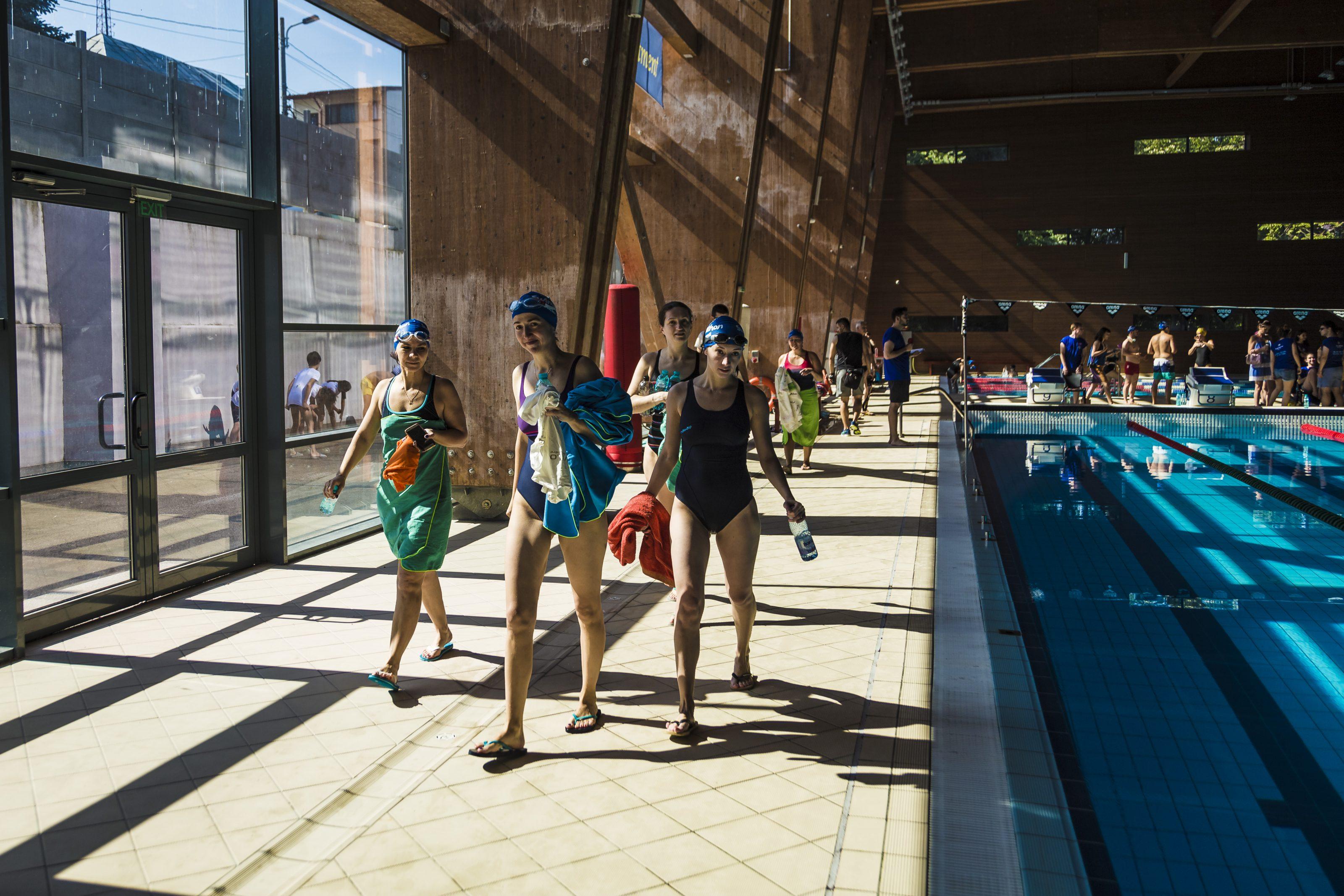 29 mai / întâlnire cu înotătorii-fundraiseri